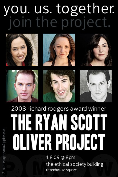 Music Theater Works Presents 'THE RYAN SCOTT OLIVER PROJECT'