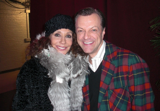 Marisa Berenson and Jim Caruso at Photo EXCLUSIVE: BACKSTAGE PHOTOS OF 'LIZA'S AT THE PALACE...!'