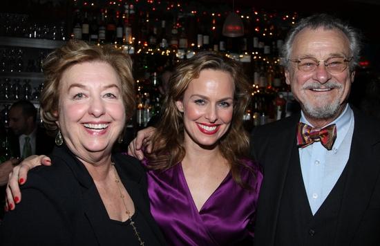 Diane Hardin, Melora Hardin and Jerry Hardin