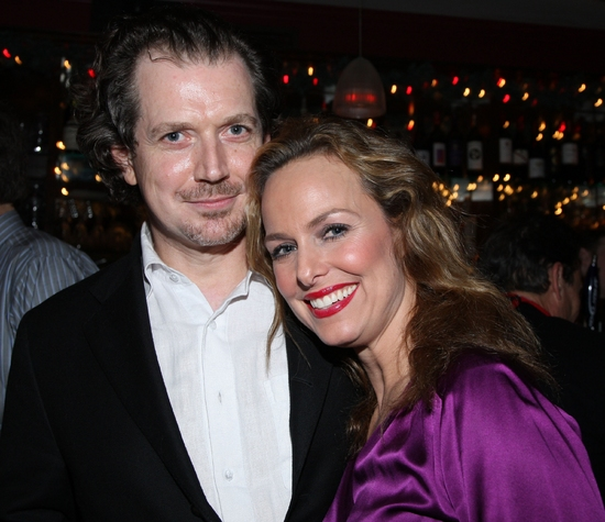 'Roxie' and her real hubby, Gildart Jackson and Melora Hardin