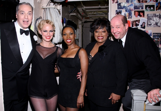 Tom Hewitt, Melora Hardin, Brenda Braxton, LaVon Fisher-Wilson and Scott Davidson at CHICAGO Welcomes Melora Hardin to Broadway!