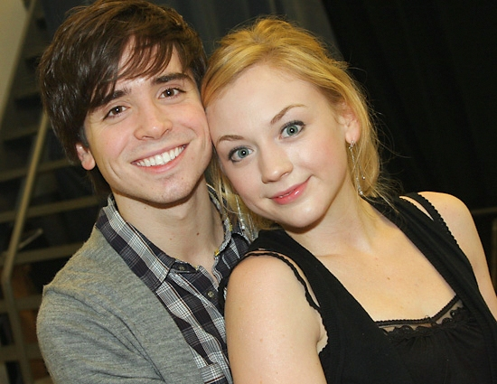 Matt Doyle and Emily Kinney