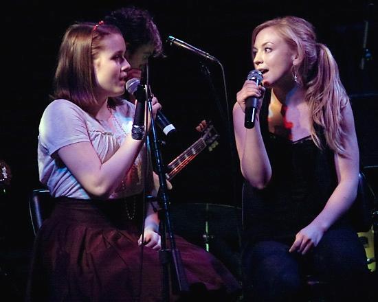 Caitlin Kinnunen and Emily Kinney