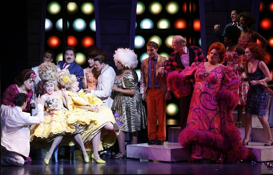 Kate Loprest, Karen Mason, Charlotte Crossley, Harvey Fierstein and the cast