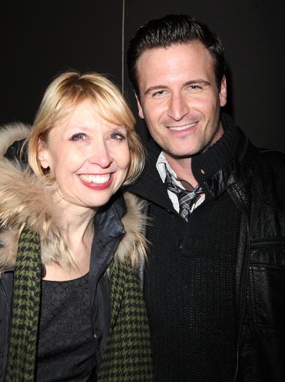Julie Halston and John Hill