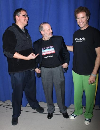 Adam McKay, Jeffrey Richards and Will Ferrell