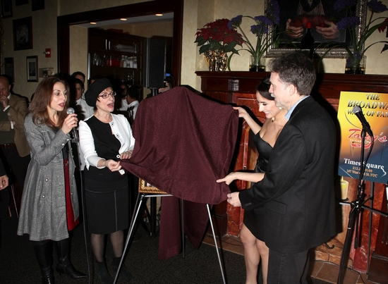 Photo Coverage: GYPSY Portrait Unveiled at Tony's DiNapoli