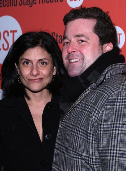 Gina Gionfriddo and Peter Dubois