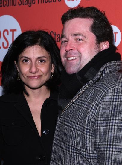 Gina Gionfriddo and Peter Dubois