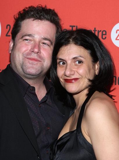 Peter Dubois and Gina Gionfriddo
