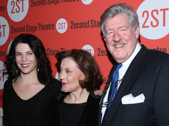 Lauren Graham, Kelly Bishop and Edward Herrmann