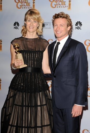 Laura Dern and Simon Baker