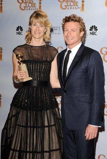 Laura Dern and Simon Baker