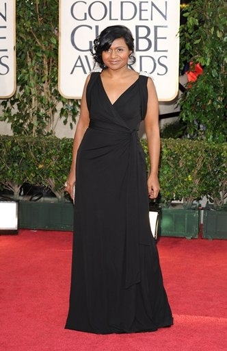Mindy Kaling  at 66th ANNUAL GOLDEN GLOBES - The Arrivals