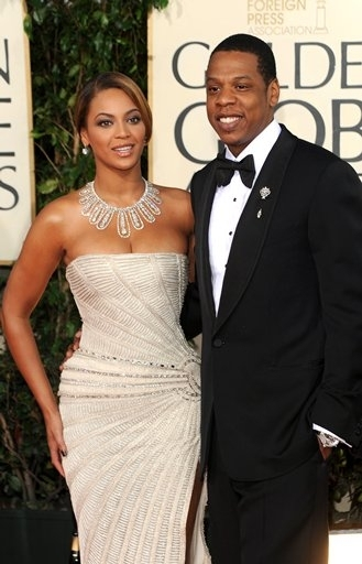Beyonce Knowles and Jay-Z Photo