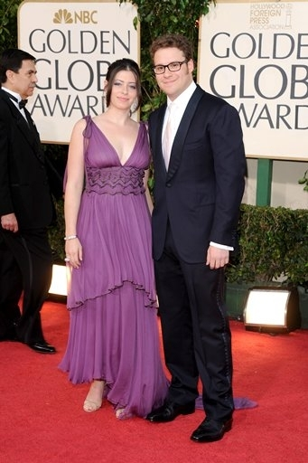 Lauren Miller & Seth Rogen