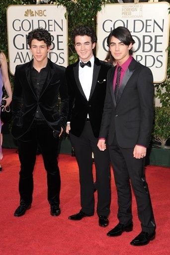 Kevan Jonas, Nick Jonas and Joe Jonas
