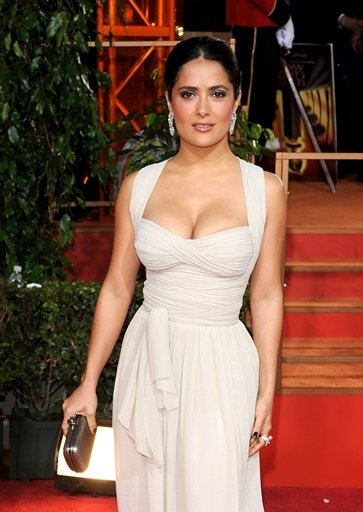 Salma Hayek  at 66th ANNUAL GOLDEN GLOBES - The Arrivals