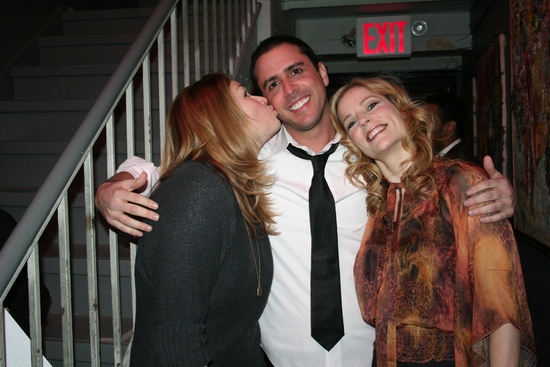 Heidi Blickenstaff, Scott Alan and Lisa Brescia
