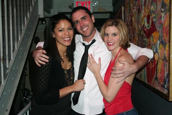 Merle Dandridge, Scott Alan and Jenn Colella