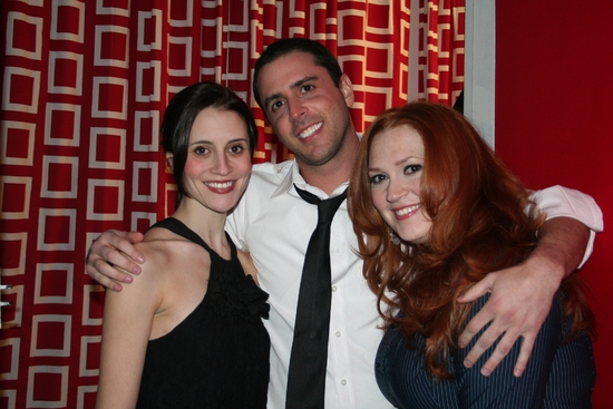 Lauren Thomas, Scott Alan and Katie Thompson