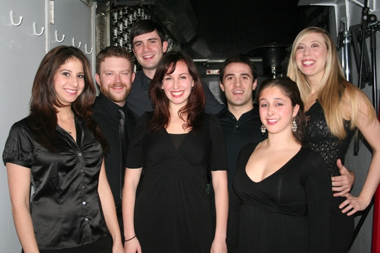 Monday Nights New Voices Choir; Melanie Burg, Marisa Dargahi, Jesse Kissel, Michael Lowney, Emily McNamara, Erik Sisco and Angie Smith