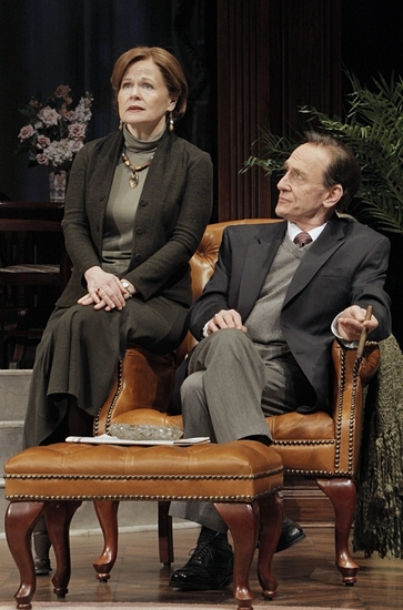 Margaret Daly and Raye Birk at Edward Albee's A DELICATE BALANCE