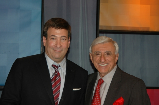 Mark Simone and Jamie Farr