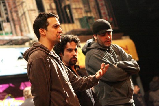 Lin Manuel Miranda, Alex Lacamoire and ?