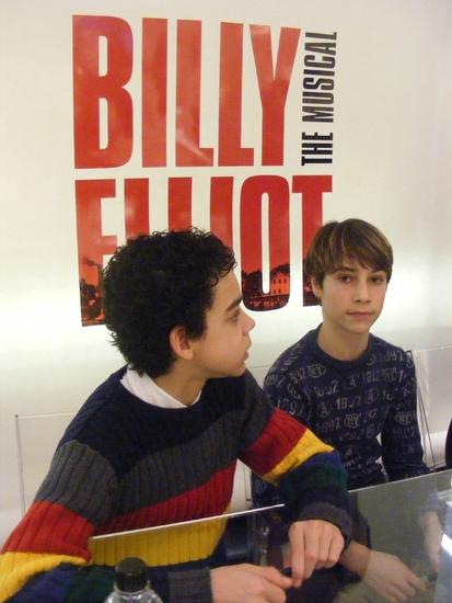 Photo Coverage: BILLY ELLIOT at Bloomingdales