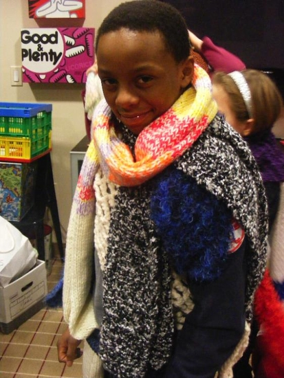 Photo Coverage: BROADWAY KIDS CARE Present the 'Knitting Project'