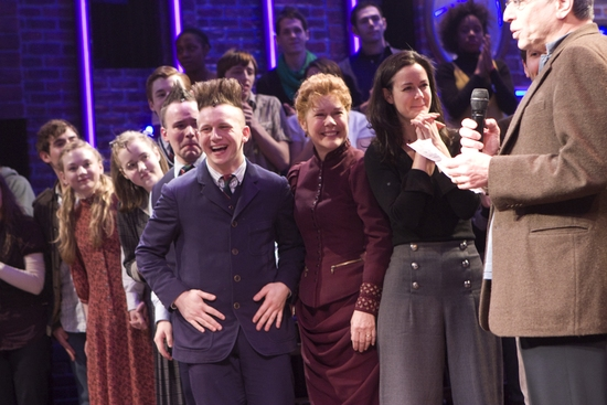 Emily Kinney, Caitlin Kinnunen, Gabriel Violett, Gerard Canonico, Christine Estabrook, Kimberly Grigsby and Ira Pittelman