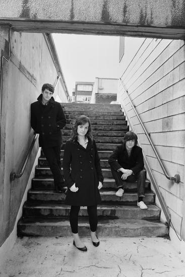 Aneurin Barnard, Charlotte Wakefield and Iwan Rheon  Photo