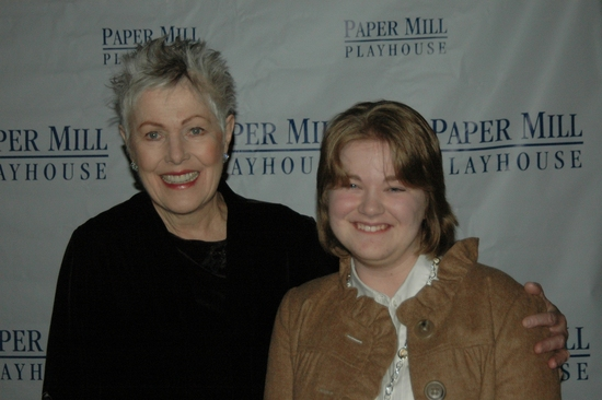Lynn Redgrave and Emily De Hope (Paper Mill Playhouse)
