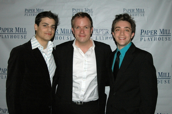 Justin Bellero (Footman), Alexander Dodge (Scenic Design) and Matthew Capodicasa (Footman)