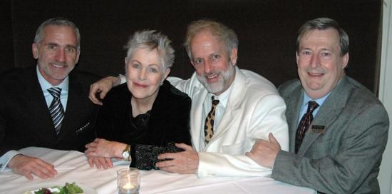 Mark S. Hoebee, Lynn Redgrave, David Schweizer and Mark W. Jones