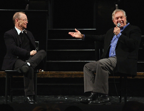 Photo Coverage: 'Talkback Tuesdays' at CHICAGO with Joel Grey