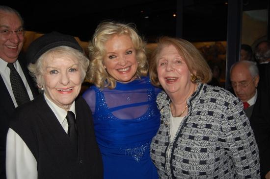 Elaine Stritch, Christine Ebersole, Joan Hamburg