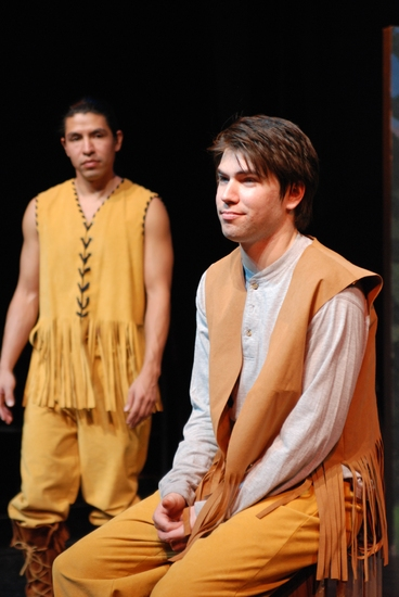 Eagle Young and Matt Bartosch