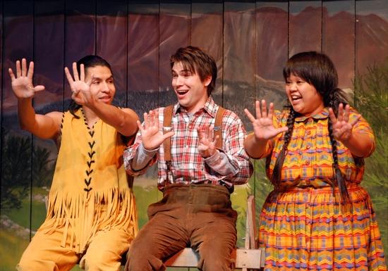 Eagle Young, Matt Bartosch and Ellen D. Williams