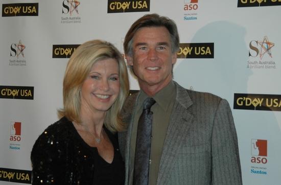 Olivia Newton John and John Easterling