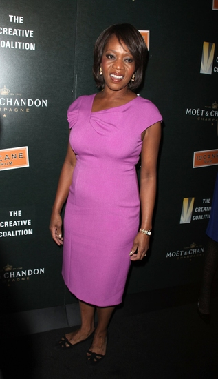 Alfre Woodard at The Moet & Chandon Party for The Creative Coalition