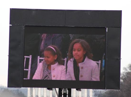 """Natasha """"Sasha"""" Obama and Malia Anne Obama"""