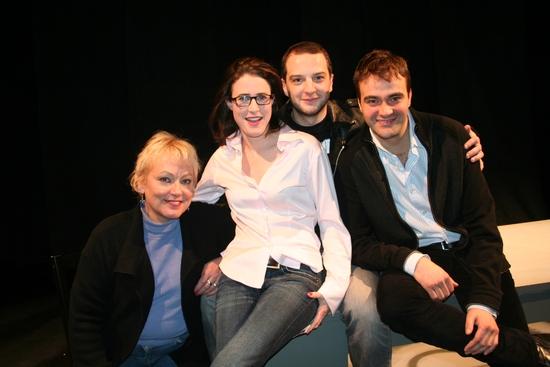 Alexa Kelly, Xanthe Elbrick, Euan Morton and Victor Villar-Hauser