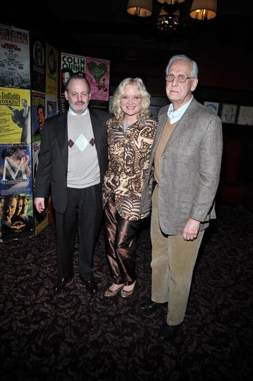 Jeffrey Richards, Christine Ebersole and Michael Blakemore