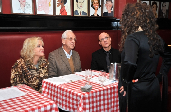 Christine Ebersole and Michael Blakemore the meet the psychics