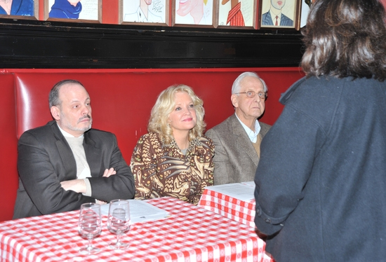 Jeffrey Richards, Christine Ebersole and Michael Blakemore, Christine Ebersole and Michael Blakemore