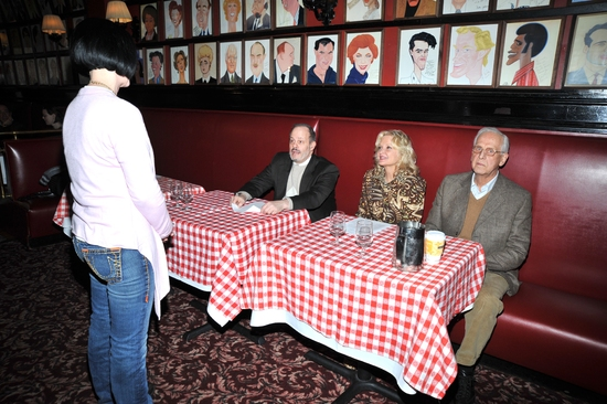 Jackie Barrett, Jeffrey Richards, Christine Ebersole and Michael Blakemore