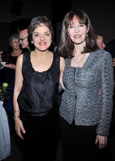 Priscilla Lopez and Barbara Feldon