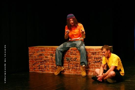 Stuart Reeve as Van and Rick Carter as CB